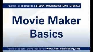 SMS - Movie Maker Basics