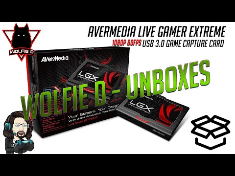 Quick Unboxing The AVerMedia Live Gamer Extreme, USB 3.0 HDMI Capture Device