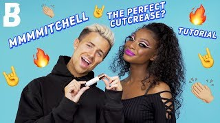 HOW TO: CUT CREASE TUTORIAL🙌🔥 | WITH MMMMITCHELL ⚡️ | BEAUTY BAY
