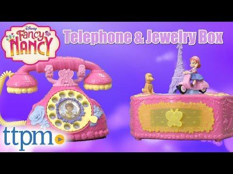 Fancy Nancy Ooh La La Music Box and Fancy French Phone from Jakks Pacific