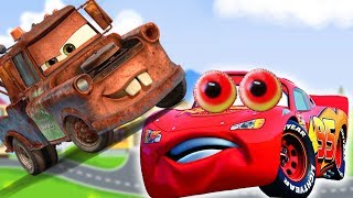 Мультик с игрушками –  Веселая шутка! Машинки тачки –  Молния Маквин и другие