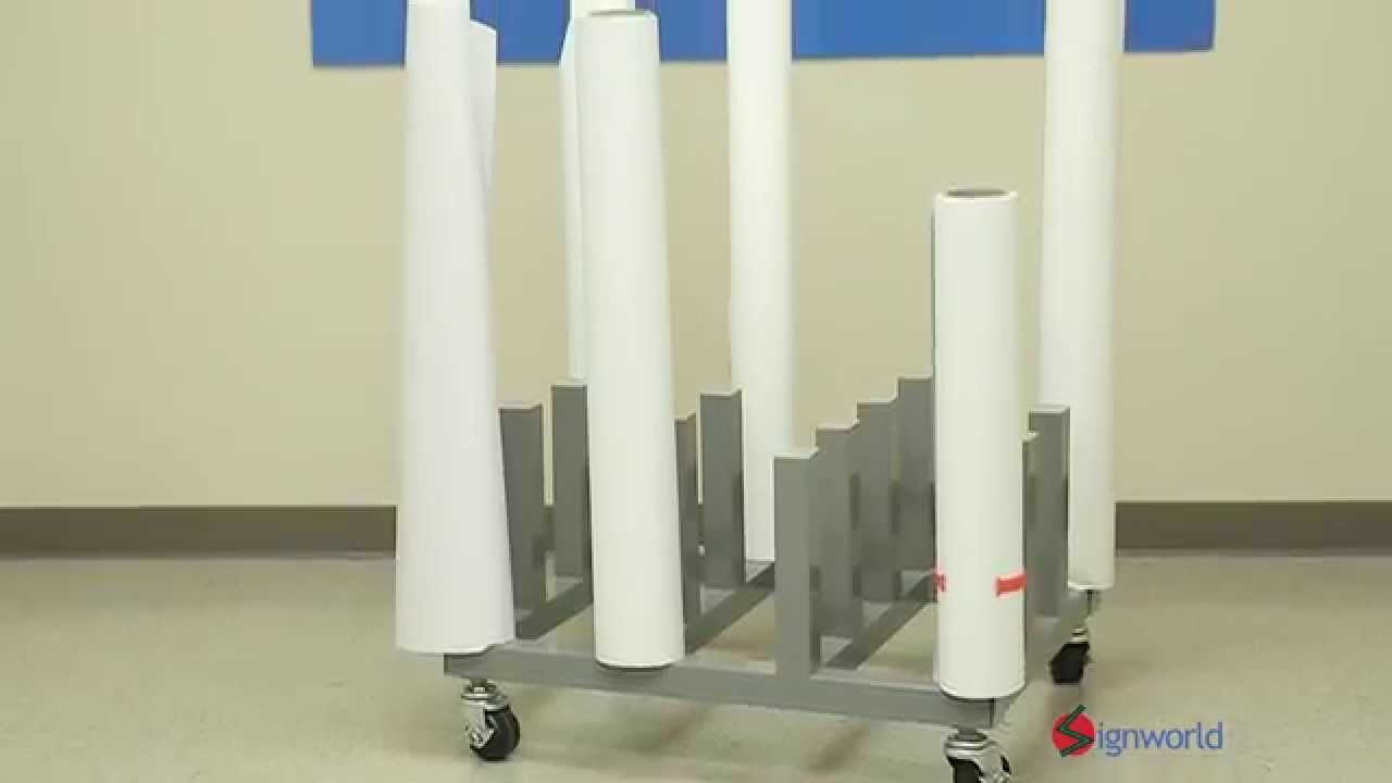 pipe cheap diy rack pvc roll and storage on vinyl pin the