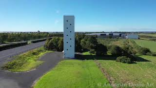 Eastlink Tollway FAKE Hotel Art Piece – Getting a Drone Up Close!