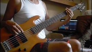A- HA-Thought That It Was You-bass cover