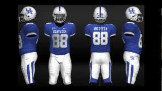 NCAA Football 13 Uniforms