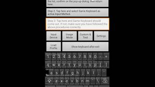 how to use game keyboard for typing cheat code