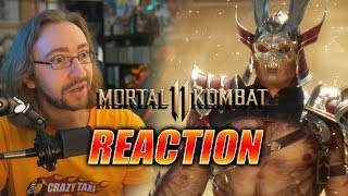 MAX REACTS: Mortal Kombat 11 - Story Trailer
