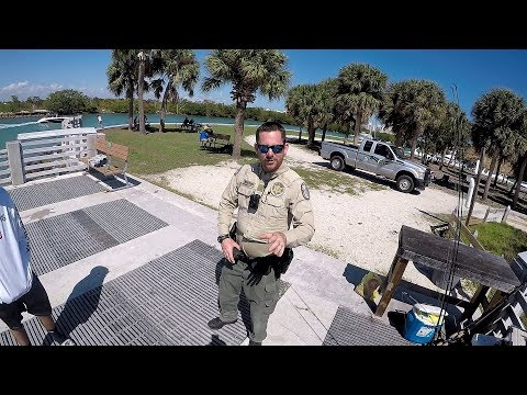 Stopped And Checked By Florida Wildlife Officer (FWC) While Fishing!