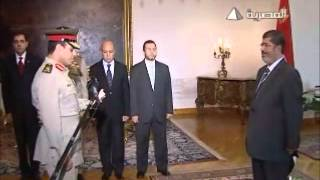وزير الدفاع الجديد يحلف اليمين أمام  رئيس الجمهورية