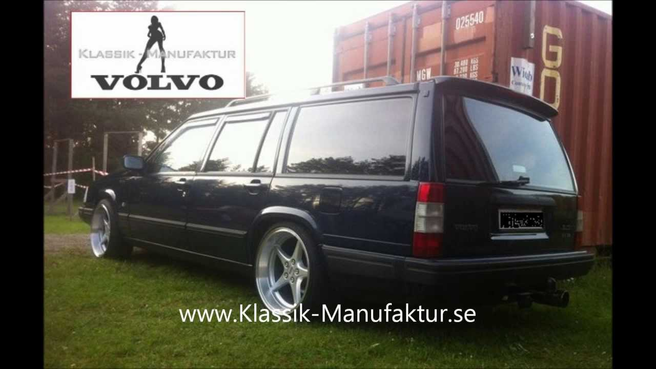 Volvo 940 Volvo 740 Tuning 18 Zoll MK Felgen by Klassik Manufaktur Retro Volvo Garage - YouTube