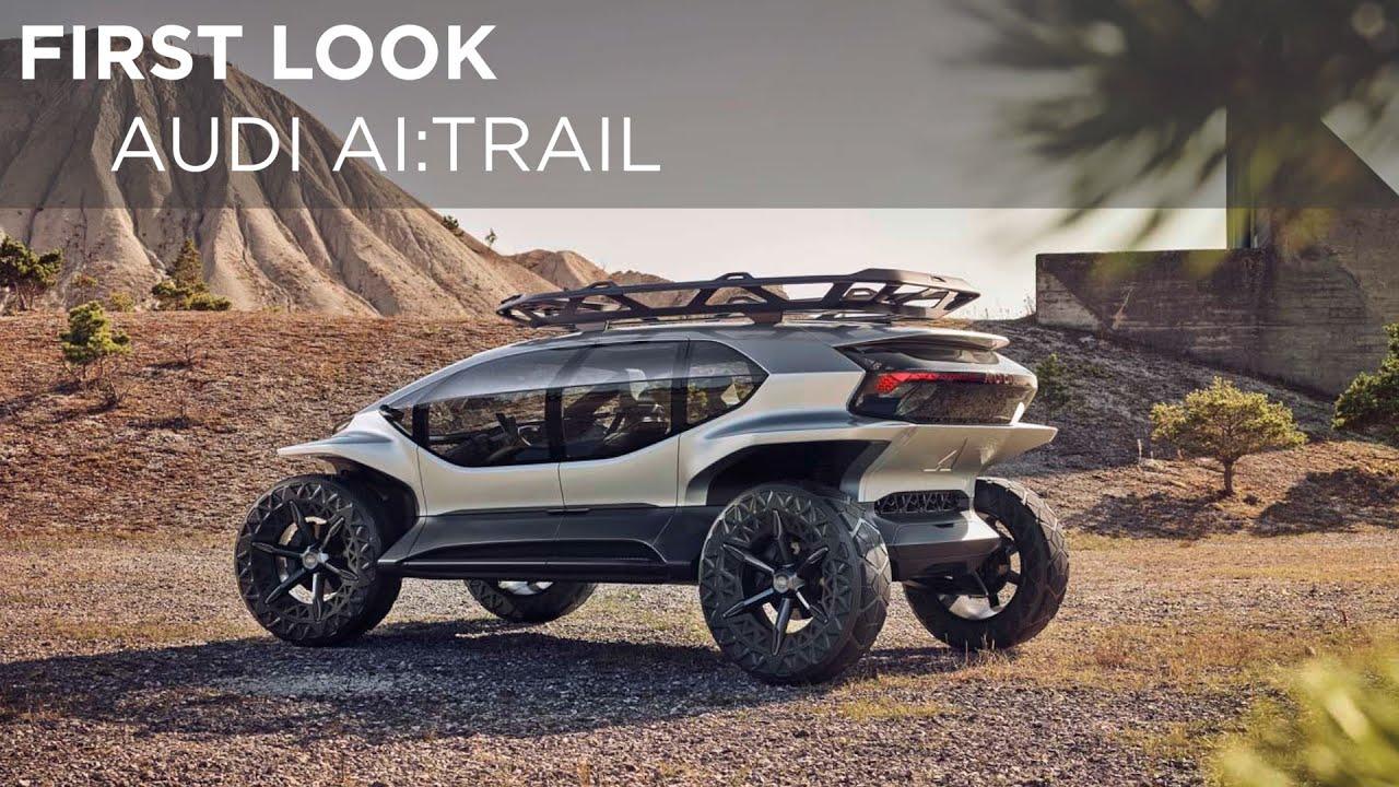Audi AI:Trail | First Look | Driving.ca