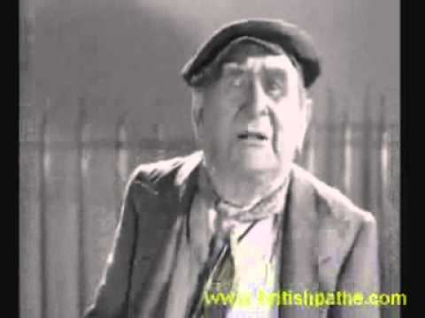 "Music Hall Star Charles Coborn Sings ""'E's Alright When You Know Him"" 1936‏"