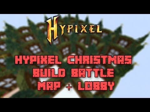 Hypixel Christmas Build Battle Map + Lobby DOWNLOAD