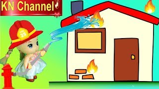 Trò chơi KN Channel BÚP BÊ TẬP LÀM LÍNH CỨU HỘ CỨU HỎA tập 1