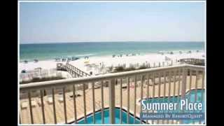 Summer Place Condominiums on Okaloosa Island, FL - Managed by ResortQuest