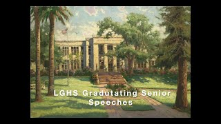 LGHS Senior Speeches