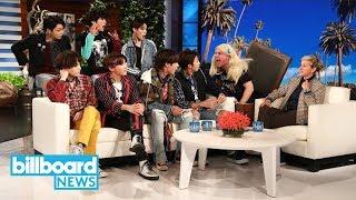 BTS Gets Pranked By Ellen DeGeneres   Billboard News