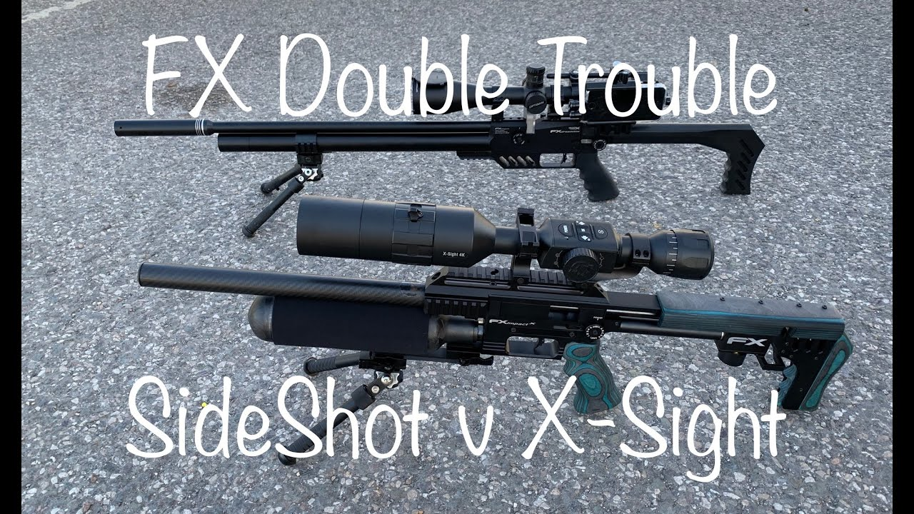 #8 FX Impact Mk2 v Dreamline- Double Trouble-SideShot v X-Sight 4K Pro