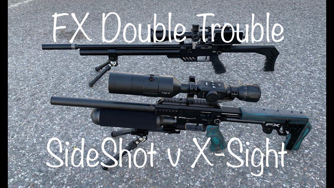 #8 FX Impact Mk2 v Dreamline- Double Trouble-SideShot v X-Sight 4K Pro