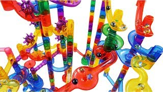 How to Build Marble Run EXTREME Set SLIDE, Marble Genius