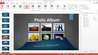 PowerPoint training |How to Create Slide Show of Text and Images with Music on Microsoft Powerpoint