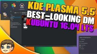 BEST-LOOKING UBUNTU SETUP?? KDE Plasma 5.5 in Ubuntu 16.04 // Ubuntu 16.04 Tips