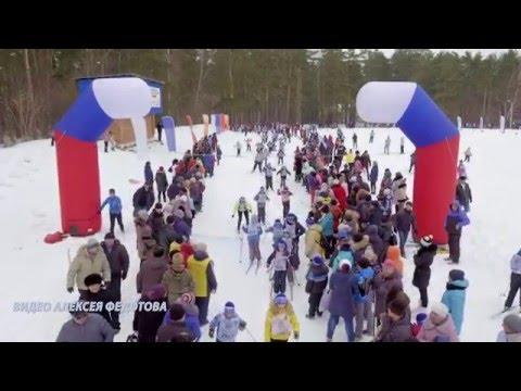 Муром Лыжня России 2016 Inspire 1 pro