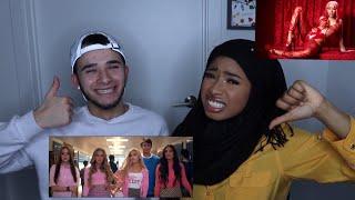 Thank U, Next by Ariana Grande & Good Form by Nicki Minaj Music Video Reaction