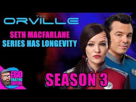 The Orville Season 3 | Seth MacFarlane Says Series Huge Priority & Has Longevity