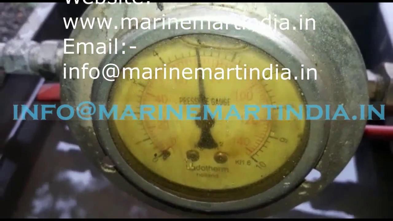 Yanmar 6n18 Cylinder Head Pressure Testing | Marine Mart