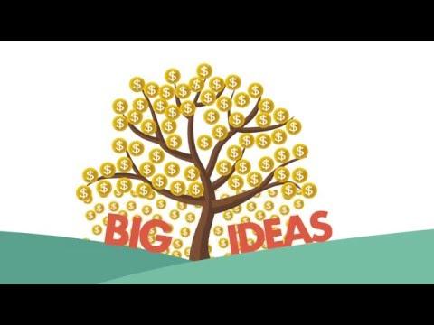 Motion Graphic For The OCAD U - Big Ideas Fund