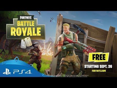 Fortnite | Battle Royale Gameplay Trailer | PS4