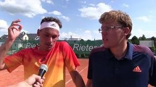 Marek Gengel a Matěj Vocel po výhře ve finále čtyřhry na turnaji Futures v Ústí n. O.