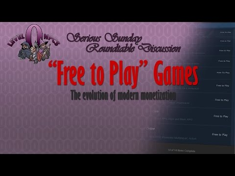 """Serious Sunday: """"Free to Play"""" Games - The Evolution of Modern Monetization"""