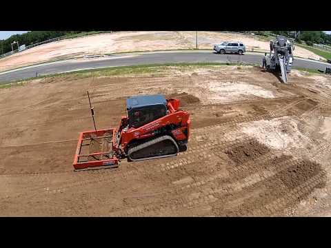 Precision Dirt Worx laser skid steer