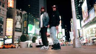 "LES TWINS ""Times Cop"" in NYC 