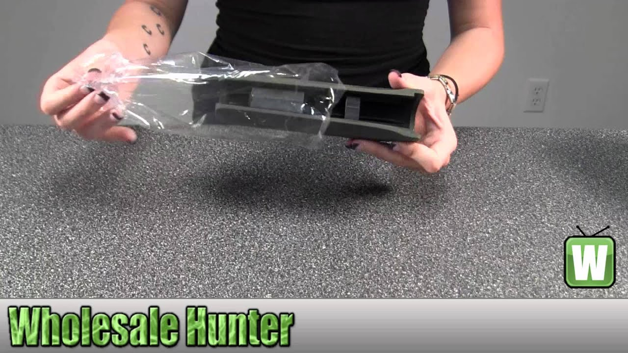 Hogue Remington 870 Overmolded Forend Olive Drab Green 08201 Shooting  Gaming Unboxing