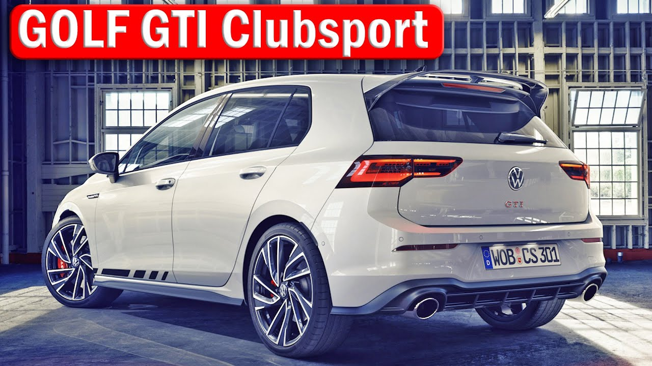The New Golf Gti Clubsport 300 Ps Flagship Gti Model Youtube