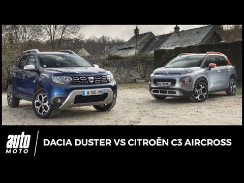 2018 Dacia Duster vs Citroën C3 Aircross : lutte des classes