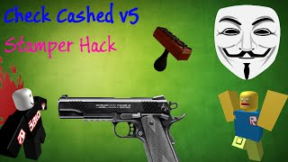 Stamper Hack | Check Cashed v5 | ROBLOX Cheat Engine | Link in desc (Working)