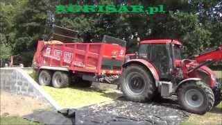 Rozrzutnik obornika METAL-FACH 272/2 14 ton