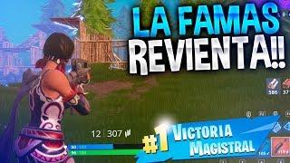 LA FAMAS LEGENDARIA REVIENTA!! | FORTNITE: Battle Royale | Rubinho vlc
