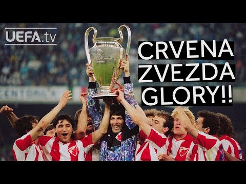 CRVENA ZVEZDA beat MARSEILLE on penalties to win the 1991 European Cup!