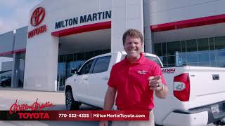 Today's the Day | Milton Martin Toyota