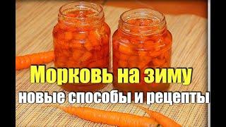 Советы и уловки Все способы заготовки моркови на зиму