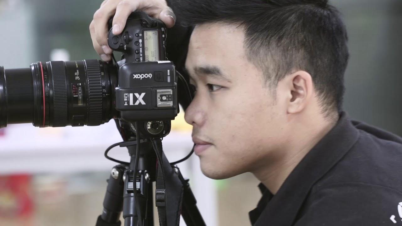 Quay phim quảng cáo  chụp ảnh bánh quy tại Chupanh.vn