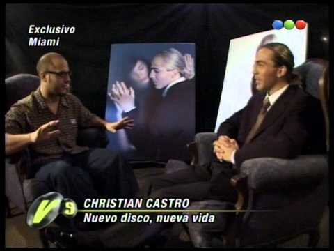 Fierita entrevista Christian Castro en Miami - Versus