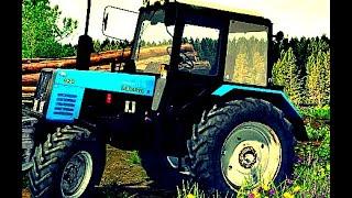 Трактор Беларус 920 или СЕЛЬСКИЙ ТРАКТОРИСТ 4. Как использовать трактор. How to use. #vseklevo