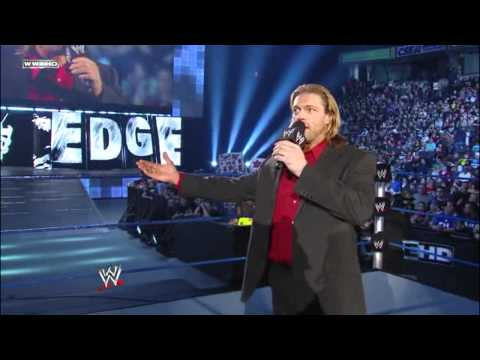 WWE Edge surrenders the World Heavyweight Championship and retires 4.15.11 [HD]