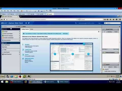 03 - How to install VMWARE vCenter without AD -- on non-Domain joined server